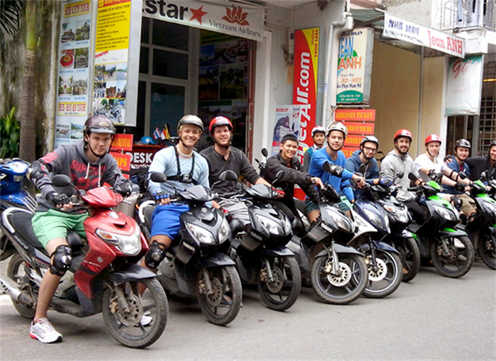 Motorbike and car rental